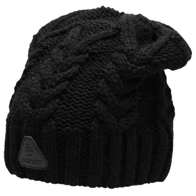Шапка бини женская Outhorn CAP HOZ20-CAD609-20S черная, р. 56-62