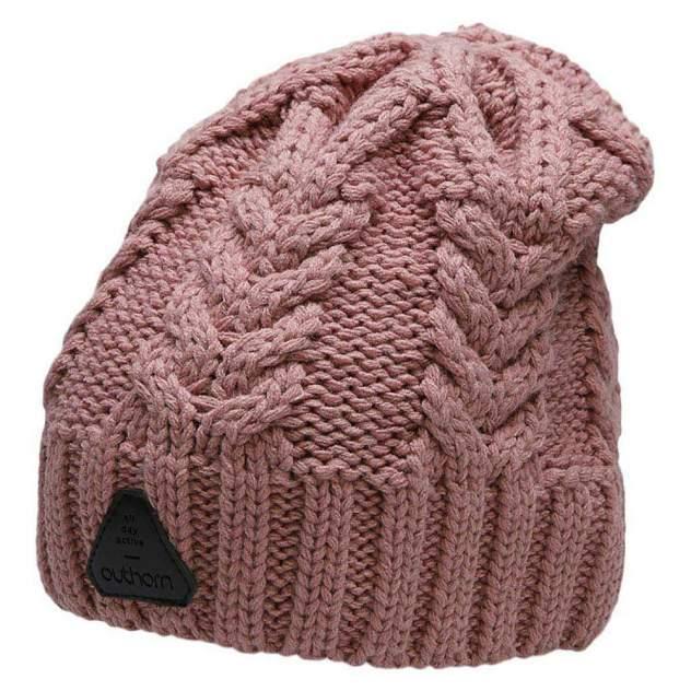 Шапка бини женская Outhorn CAP HOZ20-CAD609-53S розовая, р. 52-56