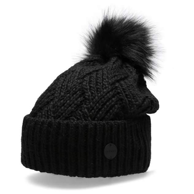Шапка бини женская Outhorn CAP HOZ20-CAD605-20S черная, р. 56-62