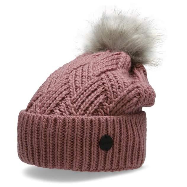 Шапка бини женская Outhorn CAP HOZ20-CAD605-53S розовая, р. 52-56