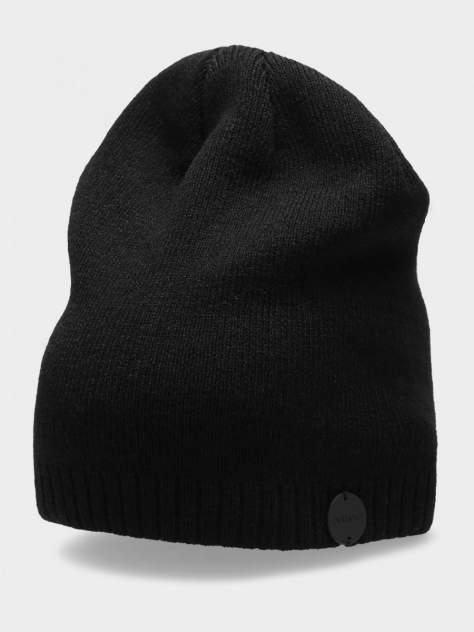 Шапка бини женская Outhorn CAP HOZ20-CAD600-20S черная, р. 56-62