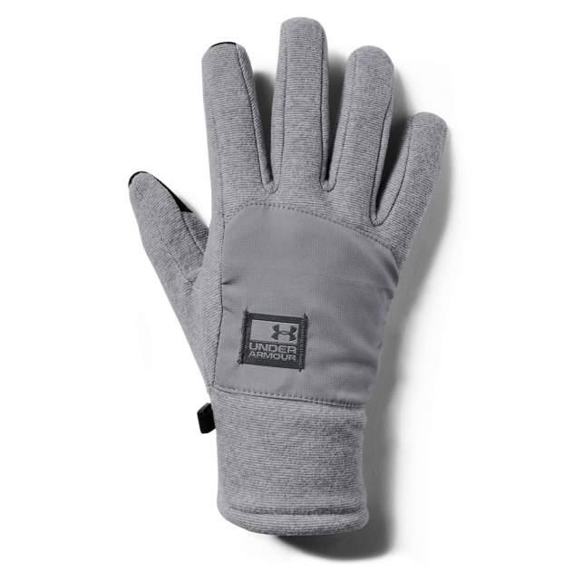 Перчатки мужские Under Armour Men's CGI Fleece Glove серые, р. M