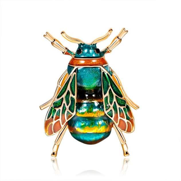Брошь женская Blucome Пчела разноцветная