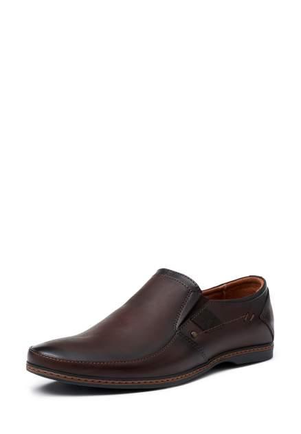 Туфли мужские Alessio Nesca K439-1RR, коричневый