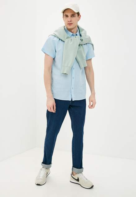 Рубашка мужская Wrangler W5J7LOXVT, голубой