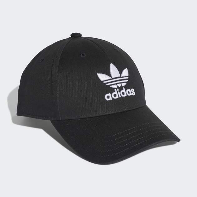 Бейсболка мужская Adidas BASEB CLASS TRE черная, р. 56-58