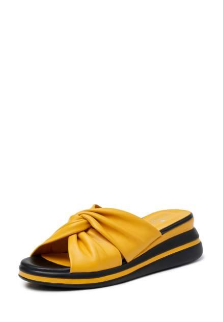 Сабо женские Pierre Cardin TR-MN-57-03 желтые 40 RU