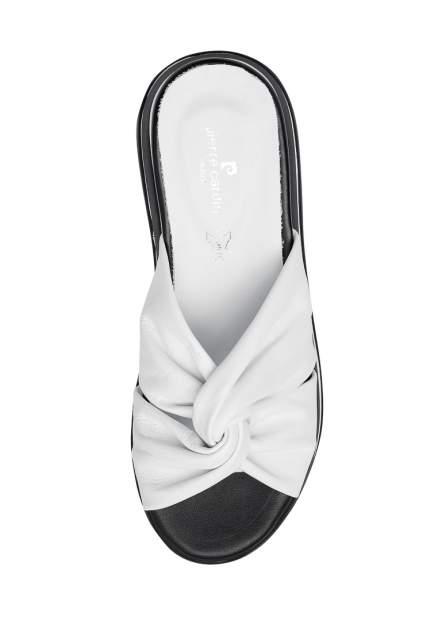 Сабо женские Pierre Cardin TR-MN-57-03 белые 37 RU