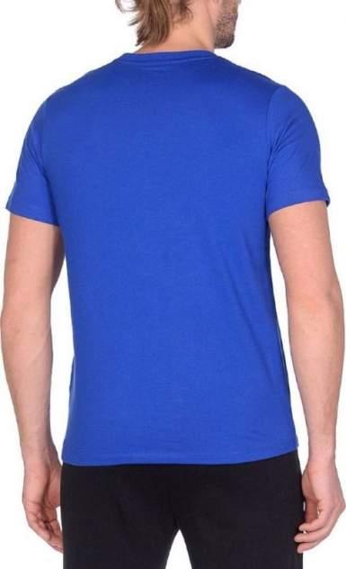 Футболка Asics Small Chest Logo Tee, blue, XL