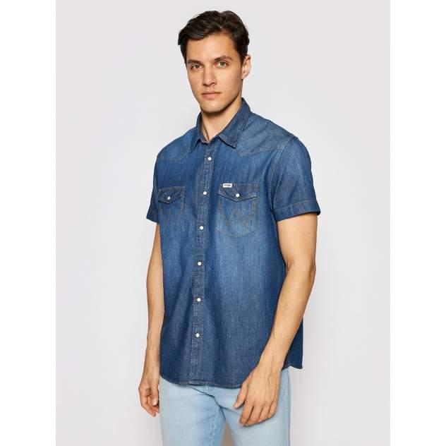 Рубашка мужская Wrangler W5J05K30P, синий