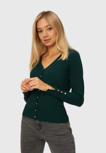 Кардиган женский Modis M212W00080T767F75, зеленый
