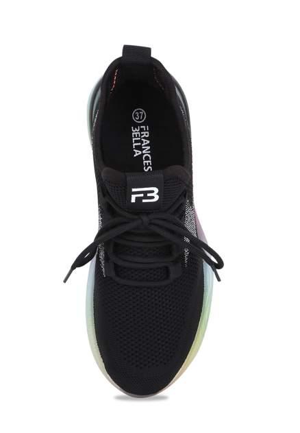 Кроссовки женские Francesco Bella FB-S10 черные 40 RU