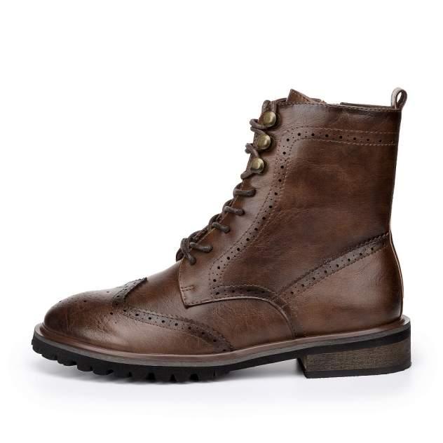 Ботинки женские ZENDEN 91-02WB-052SR, коричневый