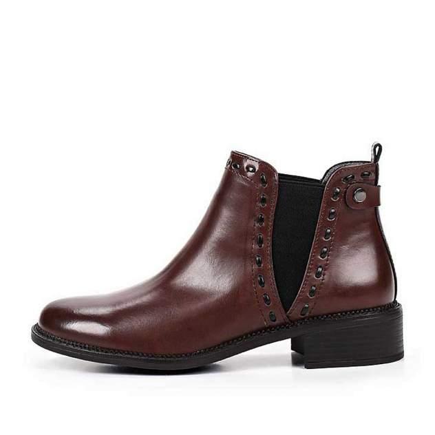 Ботинки женские INSTREET 91-02WB-041SR, коричневый