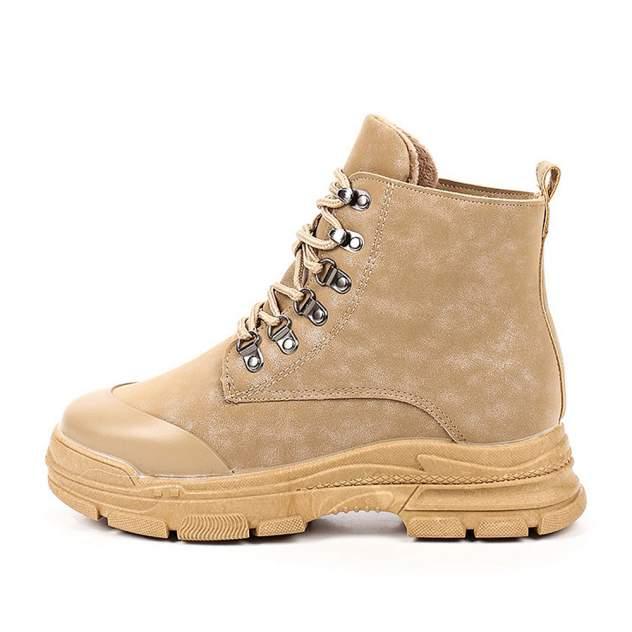 Ботинки женские ZENDEN 203-02WB-036SR, бежевый