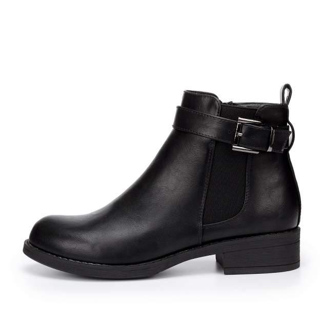 Ботинки женские INSTREET 203-02WB-008SR, черный