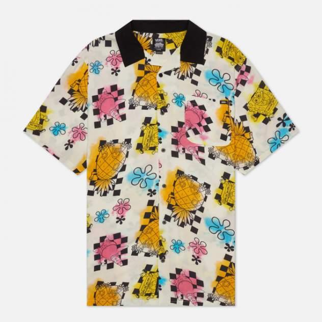 Рубашка мужская Vans VA5FOOZAS, белый