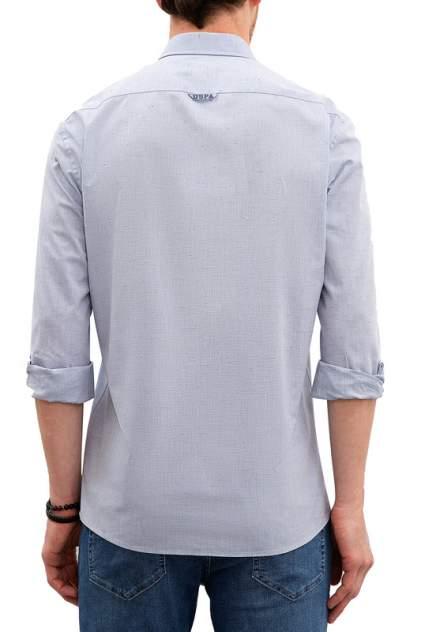 Рубашка мужская U.S. POLO Assn. G081SZ0040MATSU голубая 46