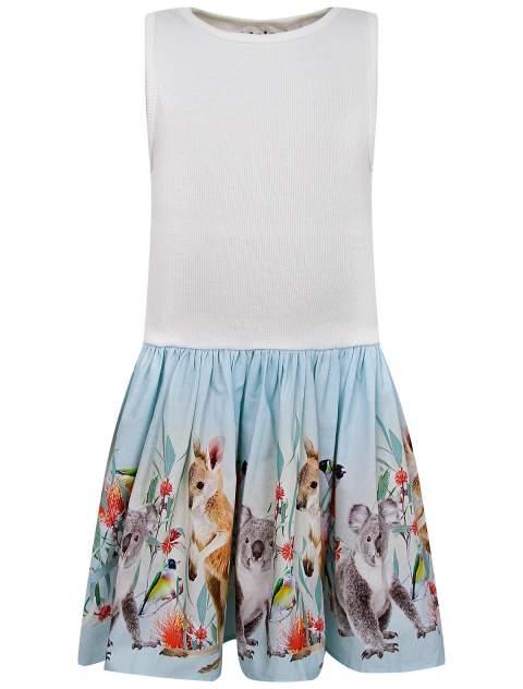 Платье MOLO цв. белый/голубой, р. 80