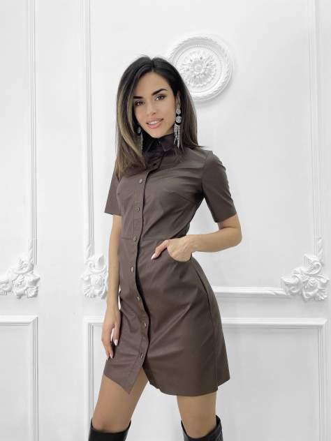 Женское платье Nadi Bordo 5012, коричневый