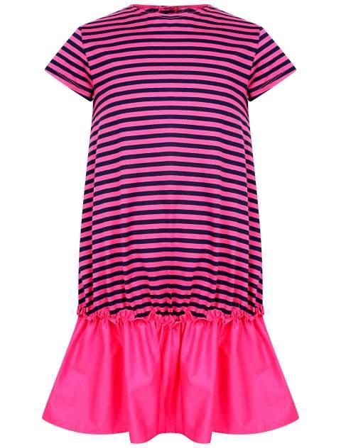 Платье Il Gufo цв. розовый/полоска, р. 92