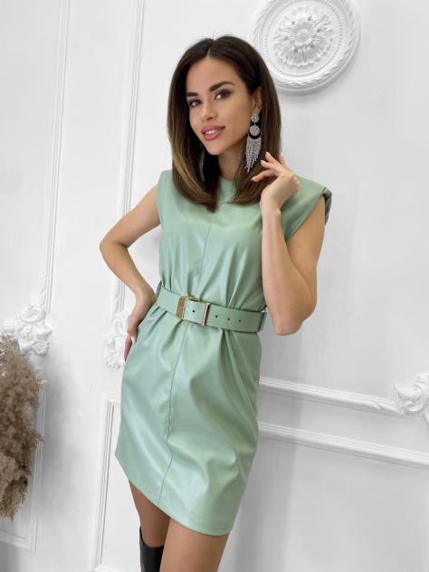 Женское платье Nadi Bordo 4896, зеленый