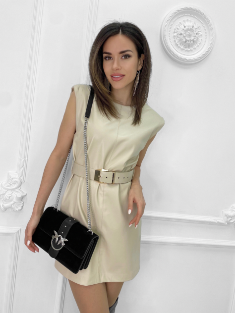 Женское платье Nadi Bordo 4896, бежевый