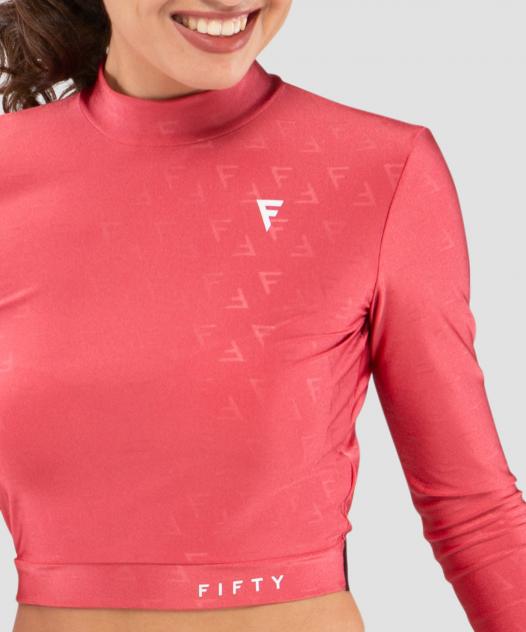 Спортивный топ женский Fifty Majesty розовый XS