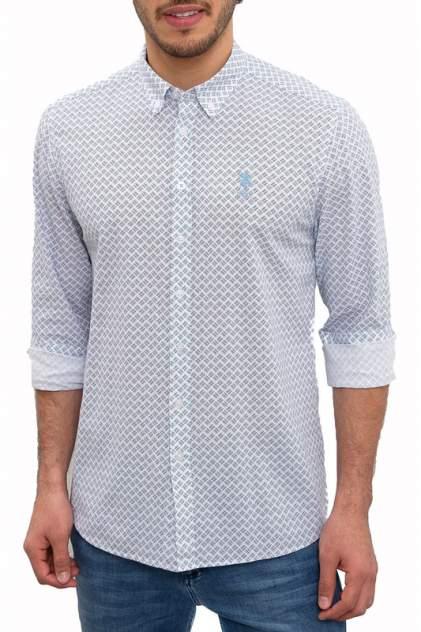Рубашка мужская U.S. POLO Assn. G081GL0040MICAH оранжевая 50