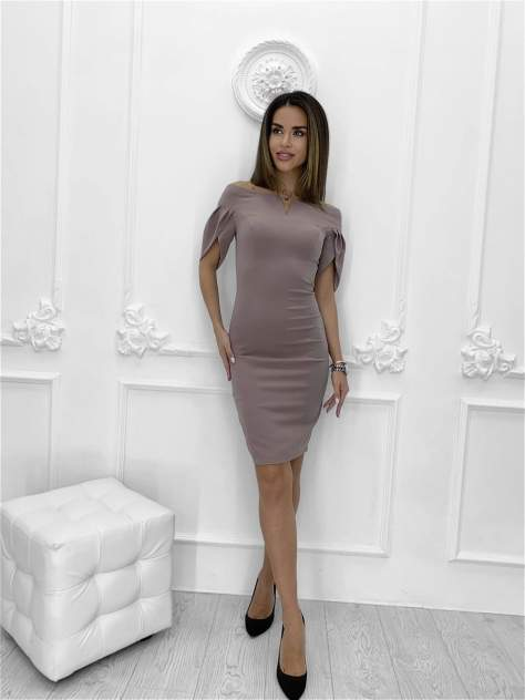 Женское платье Nadi Bordo 3273, бежевый