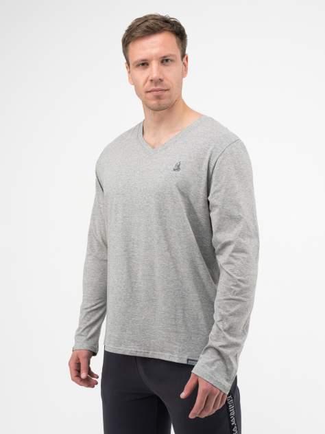 Лонгслив мужской Великоросс Мягкий хлопок серый 60 RU
