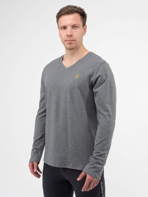 Лонгслив мужской Великоросс Мягкий хлопок серый 62 RU