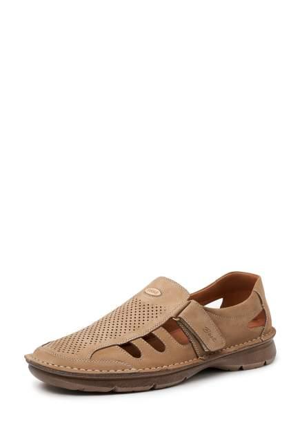 Сандалии мужские Alessio Nesca 1-156-301-1 коричневые 44 RU