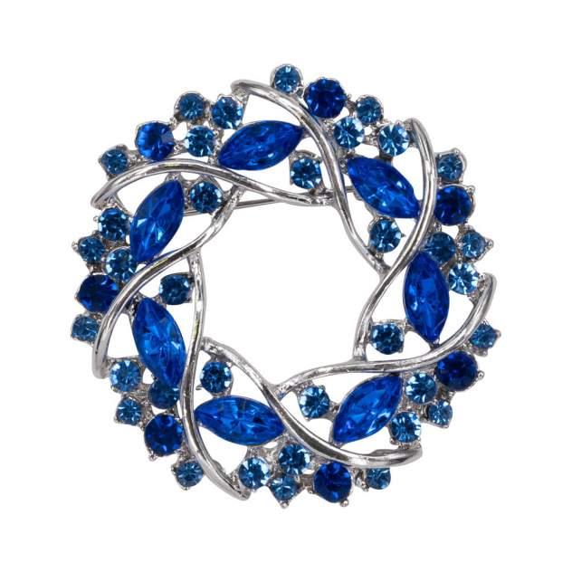 Брошь женская OTOKODESIGN 12-56216 синяя