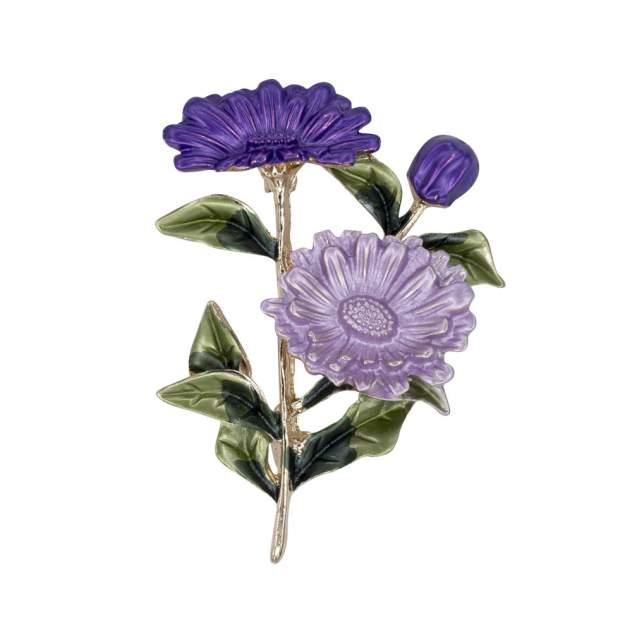 Брошь женская OTOKODESIGN 56263 фиолетовая