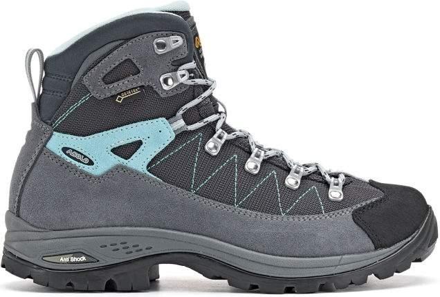Ботинки Asolo Finder Gv, grey/gunmetal/pool side, 7 UK