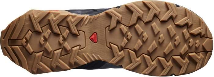 Ботинки Salomon X Reveal Chukka Cswp, shade/black/gum1a, 9 UK