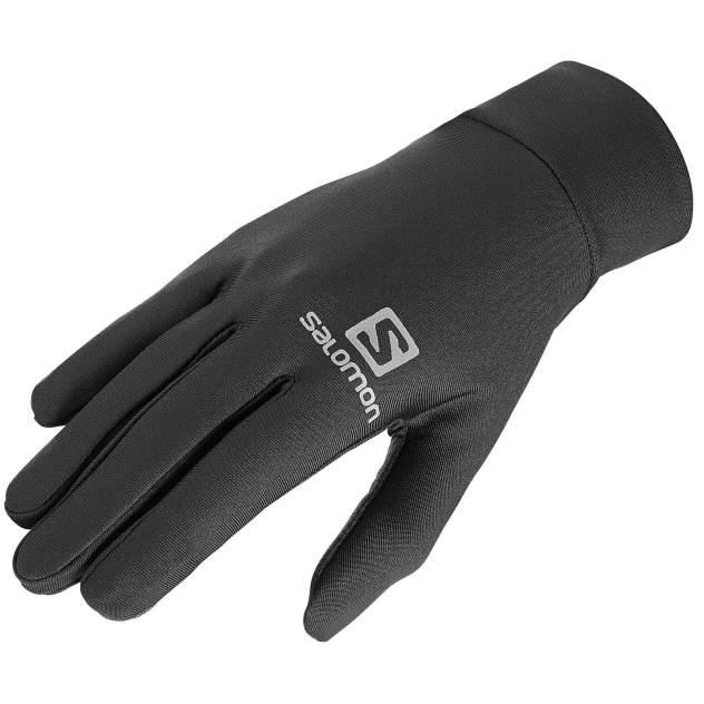 Мужские перчатки Salomon Agile Warm Glove U, черный