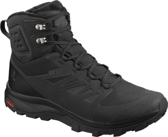 Ботинки Salomon Outblast Ts Cswp, black/black/black, 11 UK