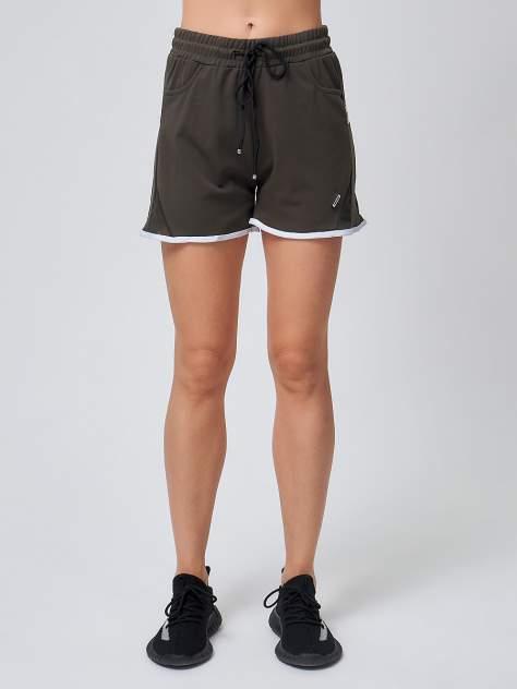 Спортивные женские шорты big хаки 212312Kh хаки 58