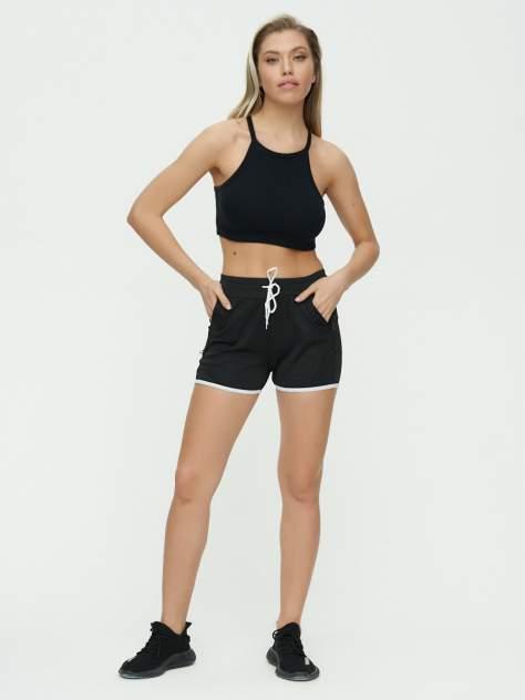 Спортивные шорты женские 3019Ch черные 40