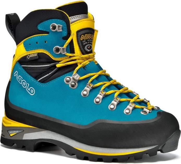 Ботинки Asolo Alpine Piolet Gv Ml, dark aqua/yellow, 6 UK
