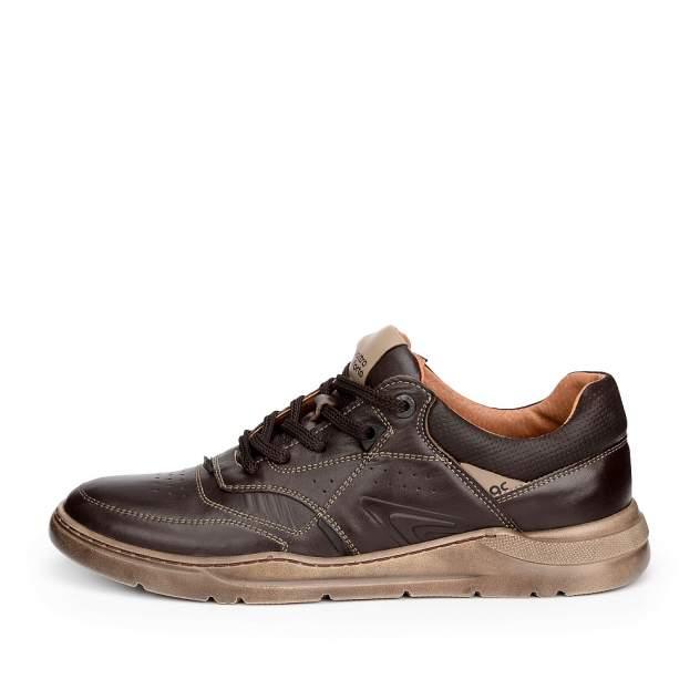 Кроссовки мужские quattrocomforto 1706-2-21, коричневый