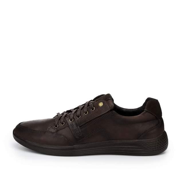 Мужские полуботинки quattrocomforto 20223, коричневый