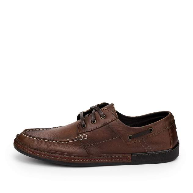 Мокасины мужские ZENDEN 500-348-N3L2, коричневый
