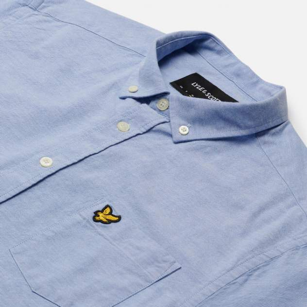 Рубашка мужская Lyle&Scott SW1304V, голубой