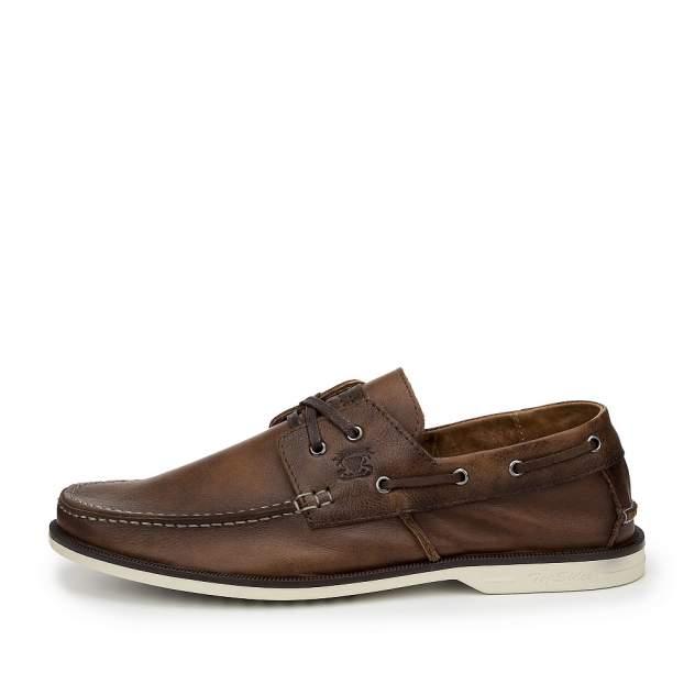 Мокасины мужские quattrocomforto 300-182-S2L1, коричневый