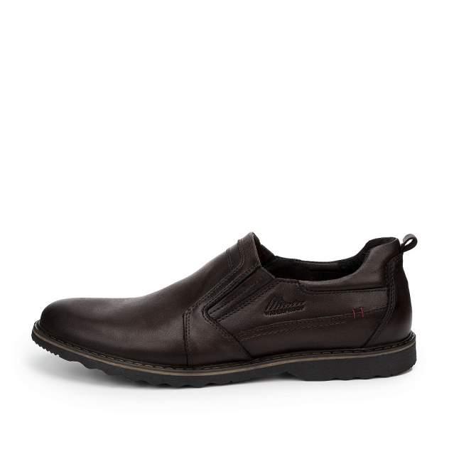 Туфли мужские ZENDEN 200-228-N2L2, коричневый