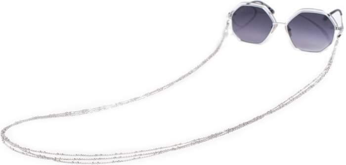 Цепочка для очков из серебра 80 см Красцветмет NH-22-1585-3-0-40