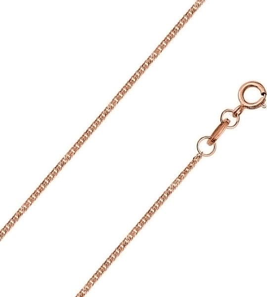 Цепочка из красного золота 55 см Красцветмет NC-12-023-0-20